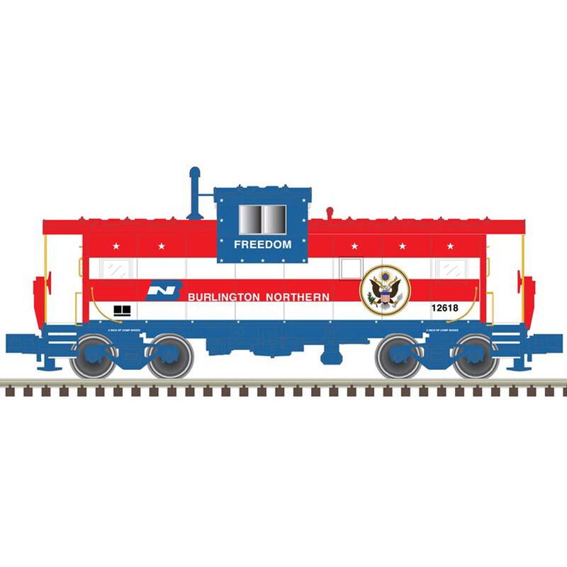 HO Extended Vision Caboose BN
