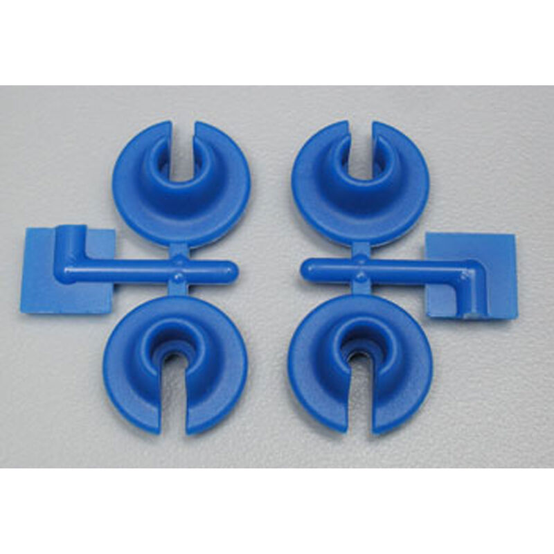 Lower Spring Cups, Blue: TRA/LOS/ASC MGT