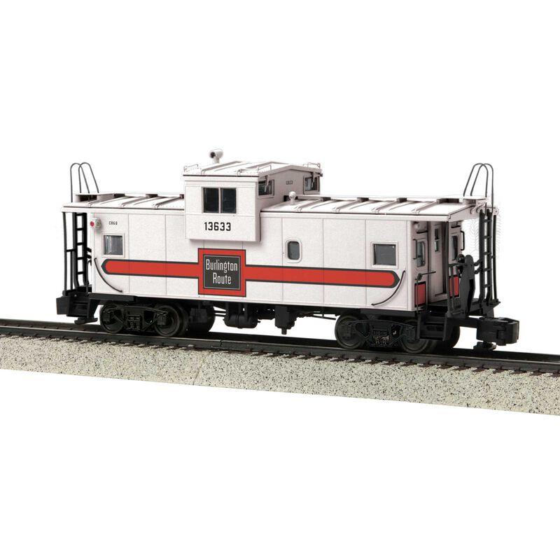Burlington Extended Caboose Scale Wheels #13633