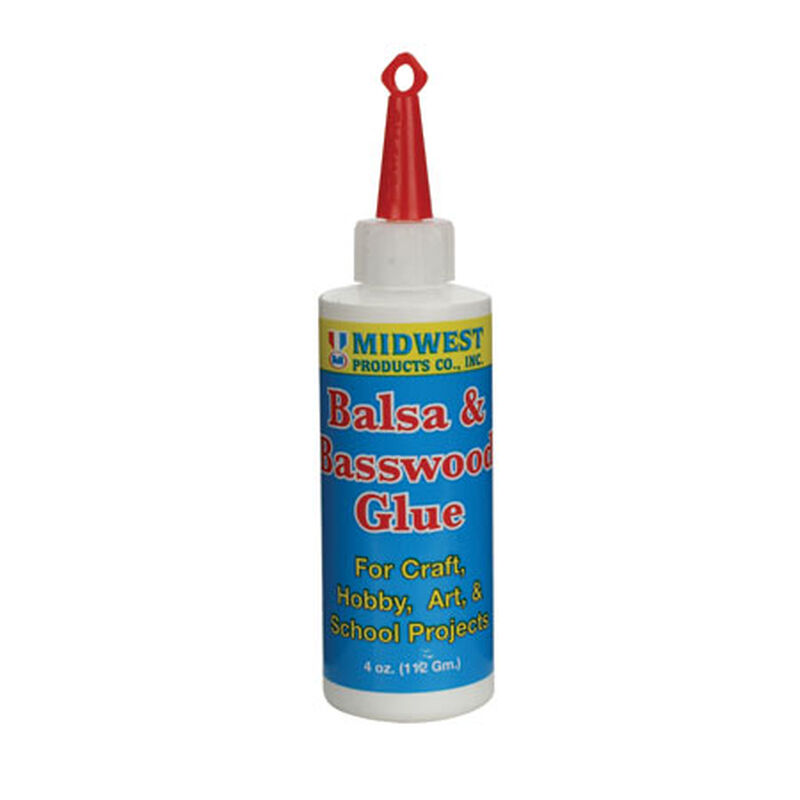 Balsa & Basswood Glue 4 oz