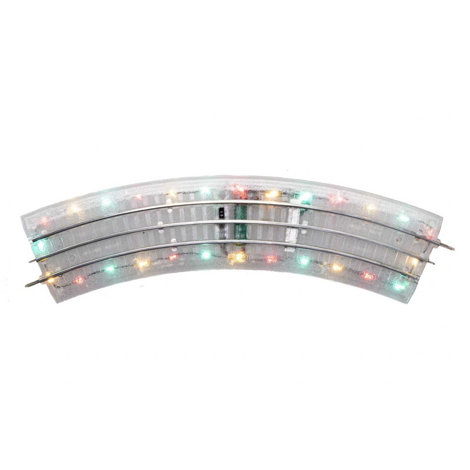 Lighted FasTrack O36 Curve 4-Pack