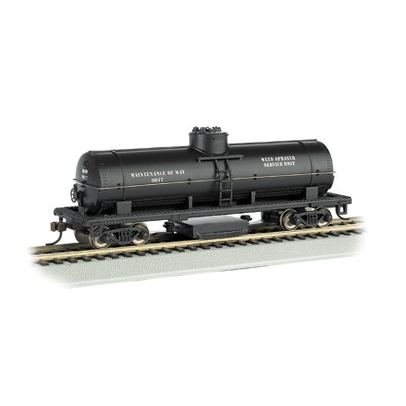 HO Track Cleaning Tank Car, MOW