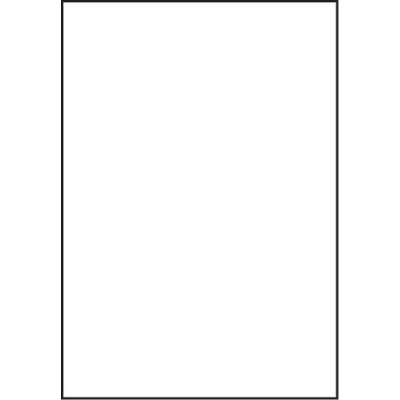 """Styrene Sheets, White, .030 x 7.6"""" x 11"""" (4)"""