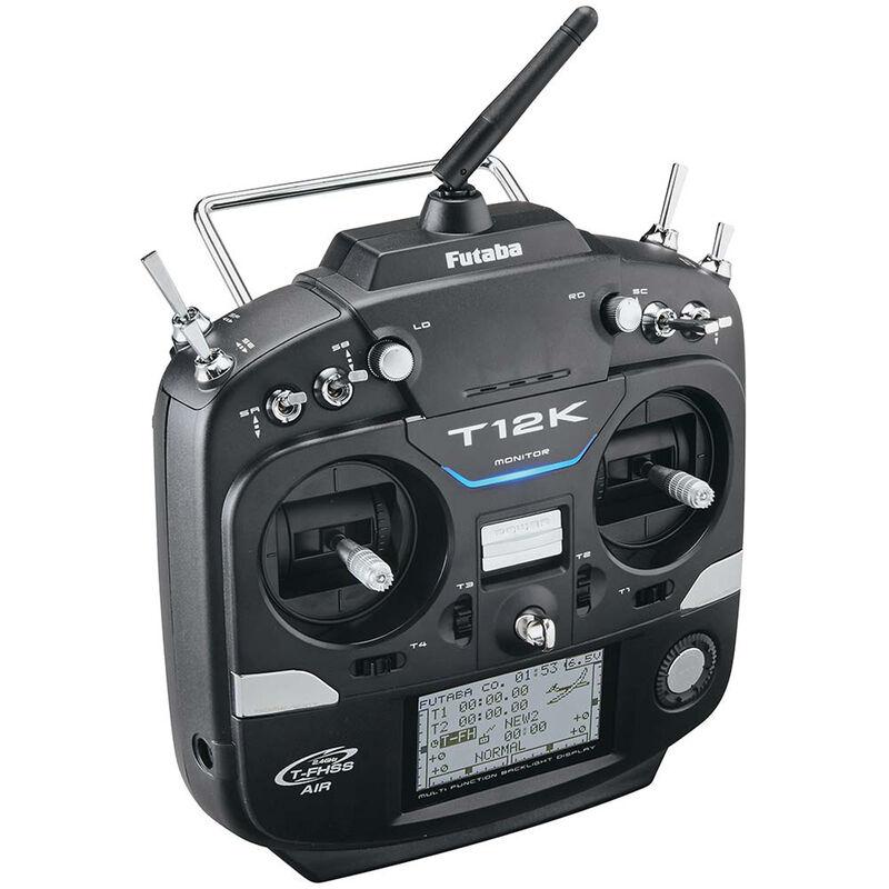 12KA 14-Channel T-FHSS S-FHSS Telemetry System