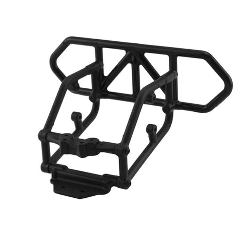 Rear Bumper, Black: SLH 4x4