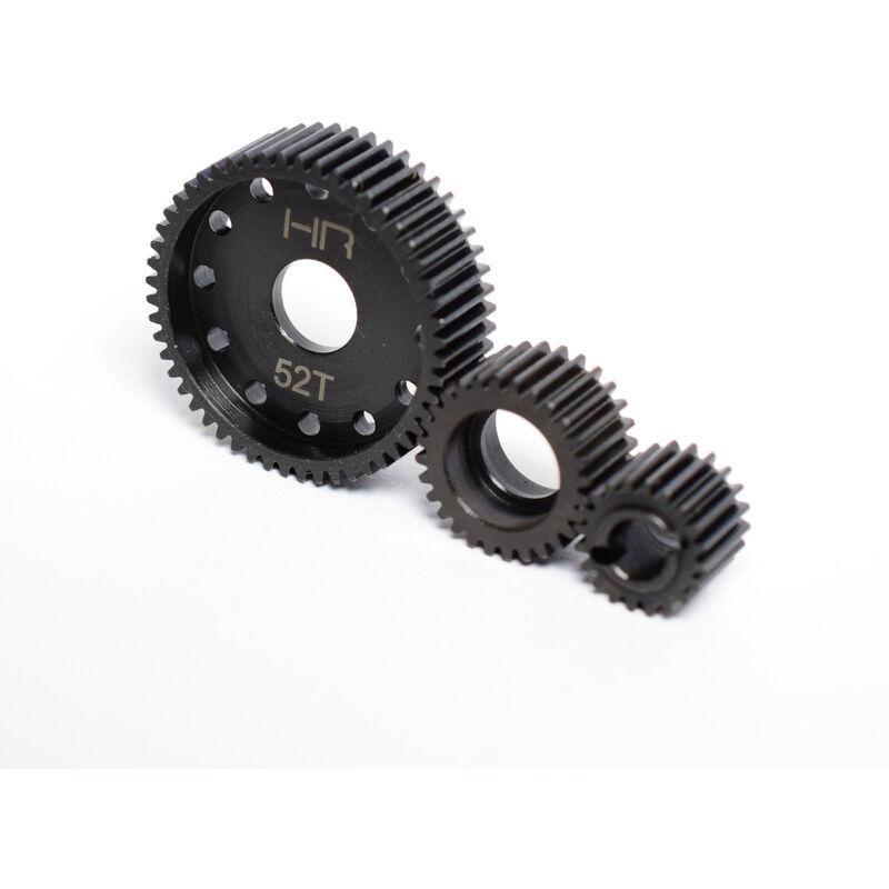 Hardened Steel Gear Set: Wraith SCX10 AX10