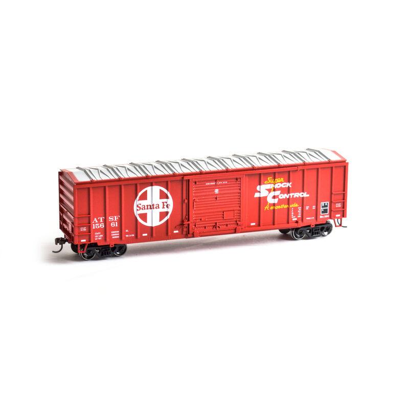 HO 50' ACF Outside Post Box SF #15661