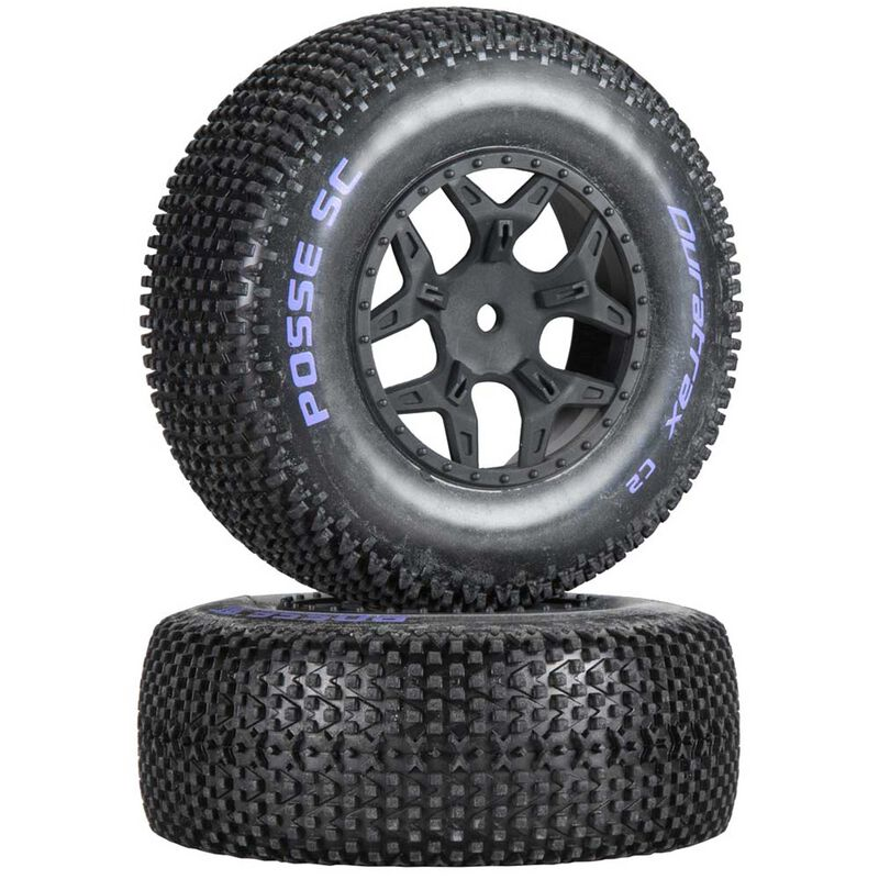 Posse SC C2 Mounted Tires: SCTE 4x4 (2)