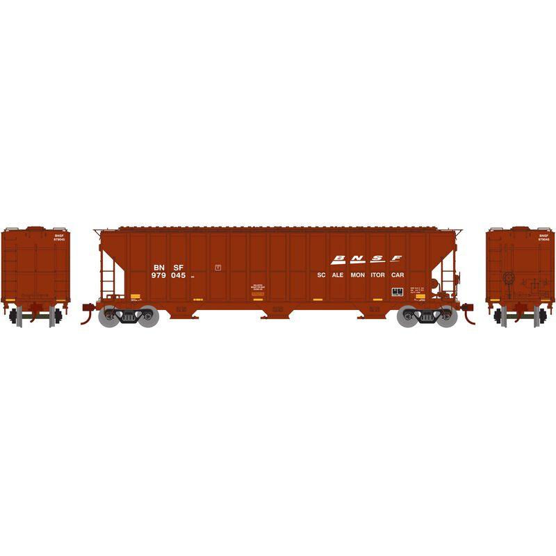 HO RTR FMC 4700 Covered Hopper, BNSF/Scale #979045