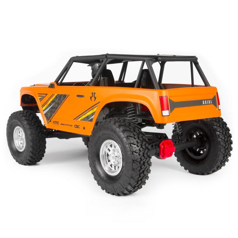 1/10 Wraith 1.9 4WD Rock Crawler Brushed RTR, Orange