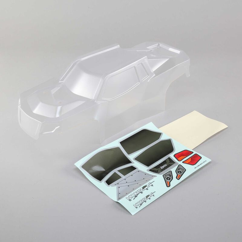 Body Set with Window Mask, Clear: LST 3XL-E