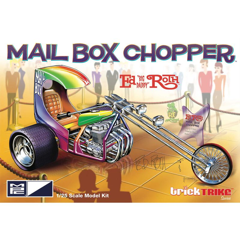 1/25 Ed Roth's Mail Box Clipper Trick Trike Series