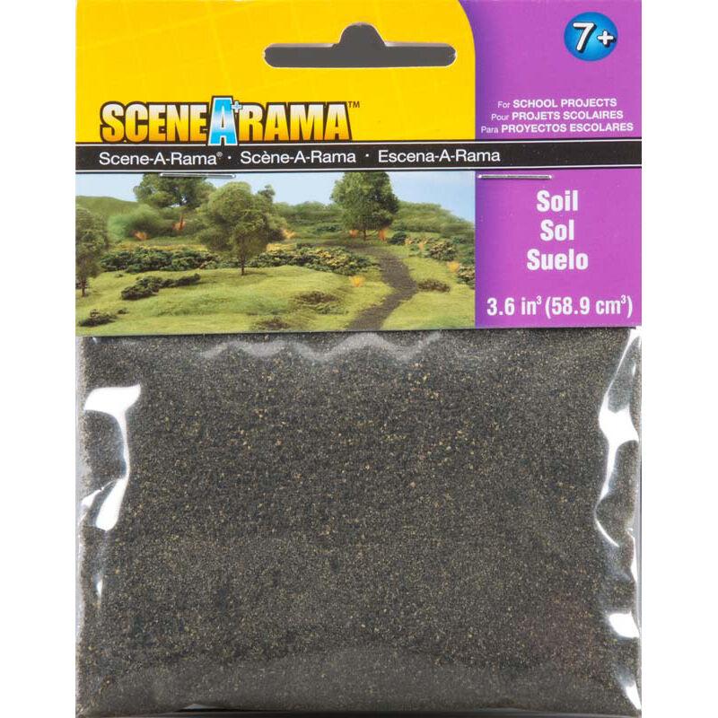Scene-A-Rama Scenery Bags, Soil 2oz