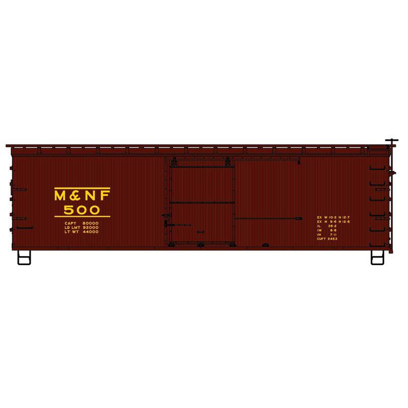 HO KIT 36' Double Sheath Box M&NF