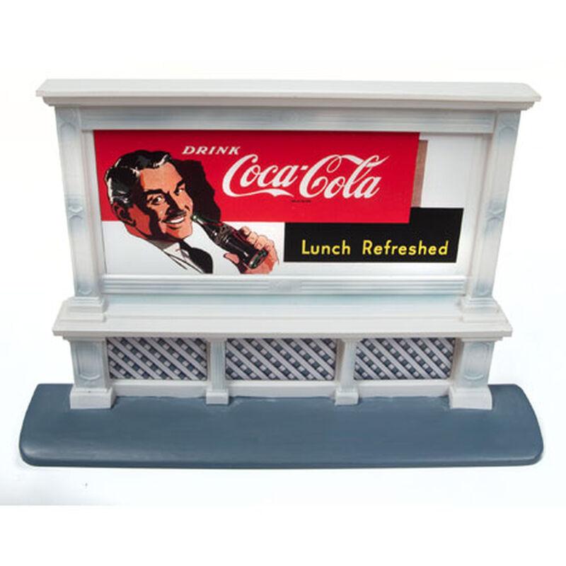 HO Billboard Coca-Cola