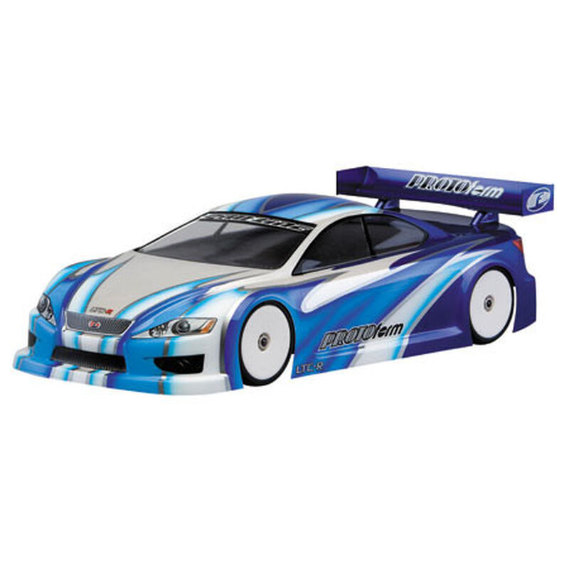 1/10 LTC-R Regular Weight Clear Body: 190mm Touring Cars