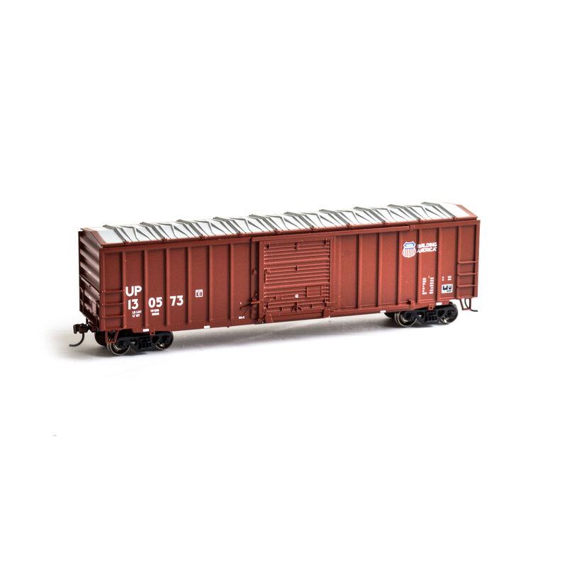 HO 50' ACF Outside Post Box UP #130573