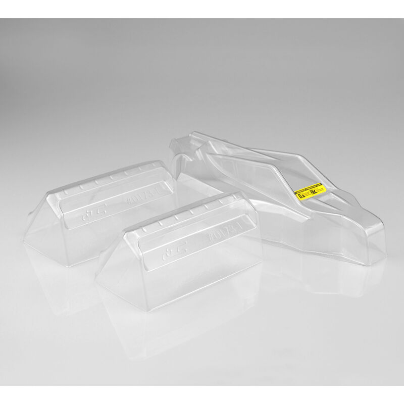 1/10 P2 High-Speed Clear Body with Aero Wing: B6, B6D