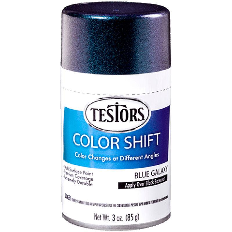 3 oz Testors Colorshift Blue Galaxy