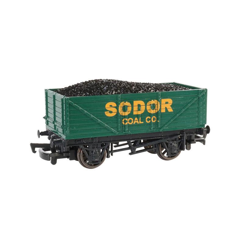 HO Sodor Coal Co Wagon with Load