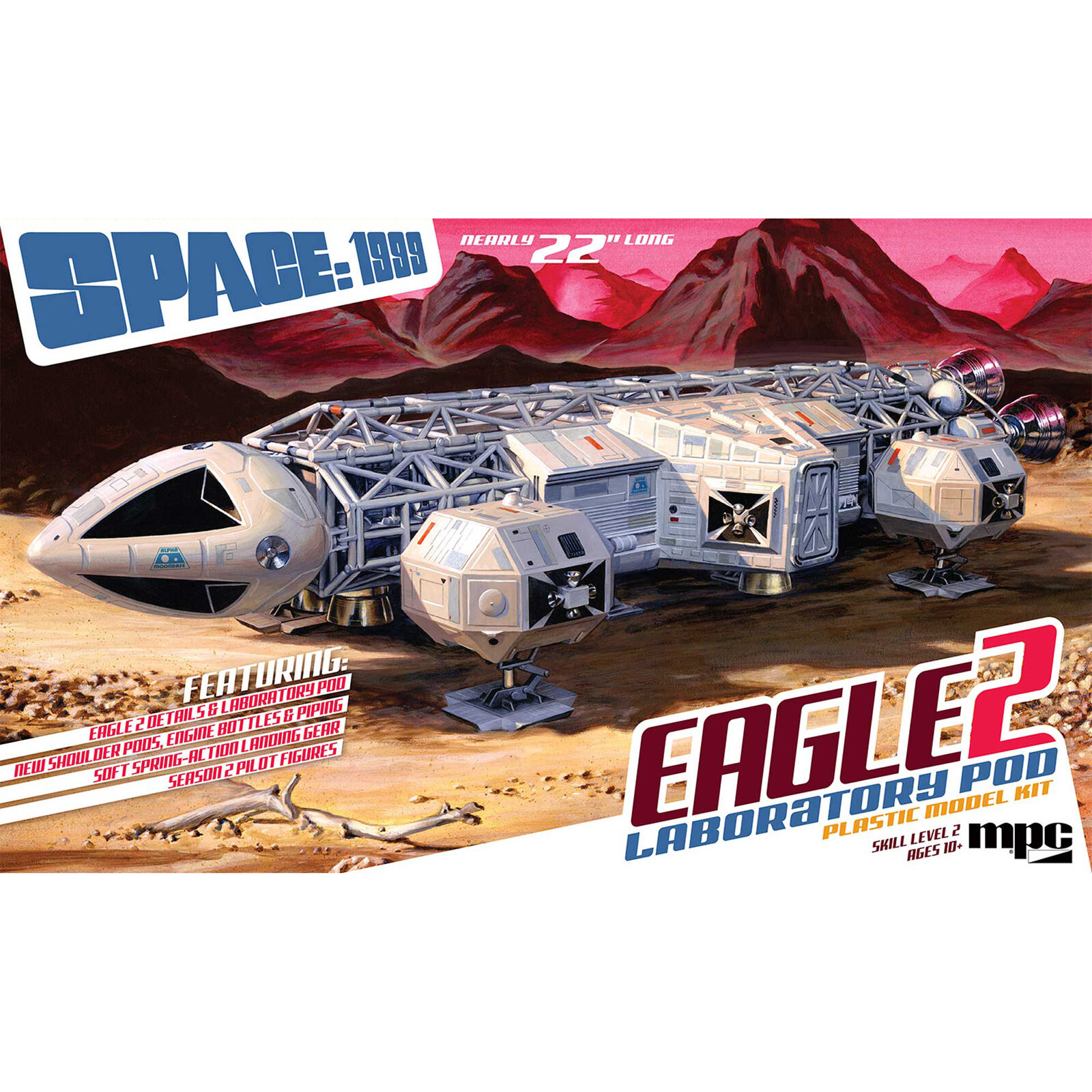 1/48 Space 1999 Eagle II with Lab Pod
