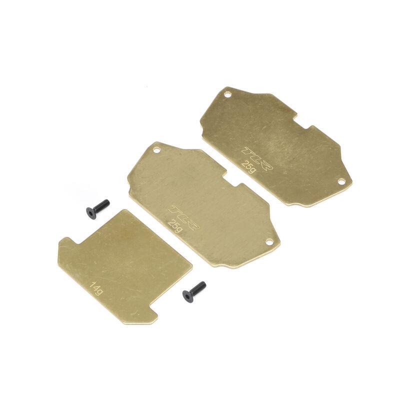 Forward Brass Plate Set: 22 4.0