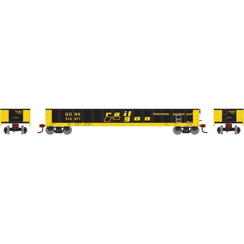N 52' Mill Gondola GONX RailGon #310877