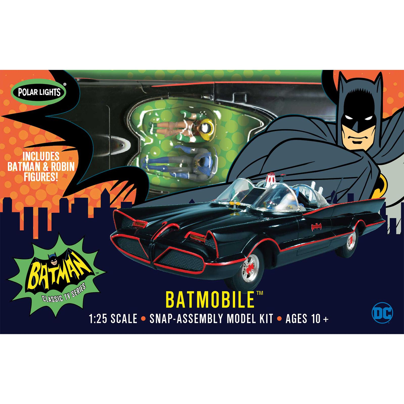 1/25 1966 Batmobile Snap