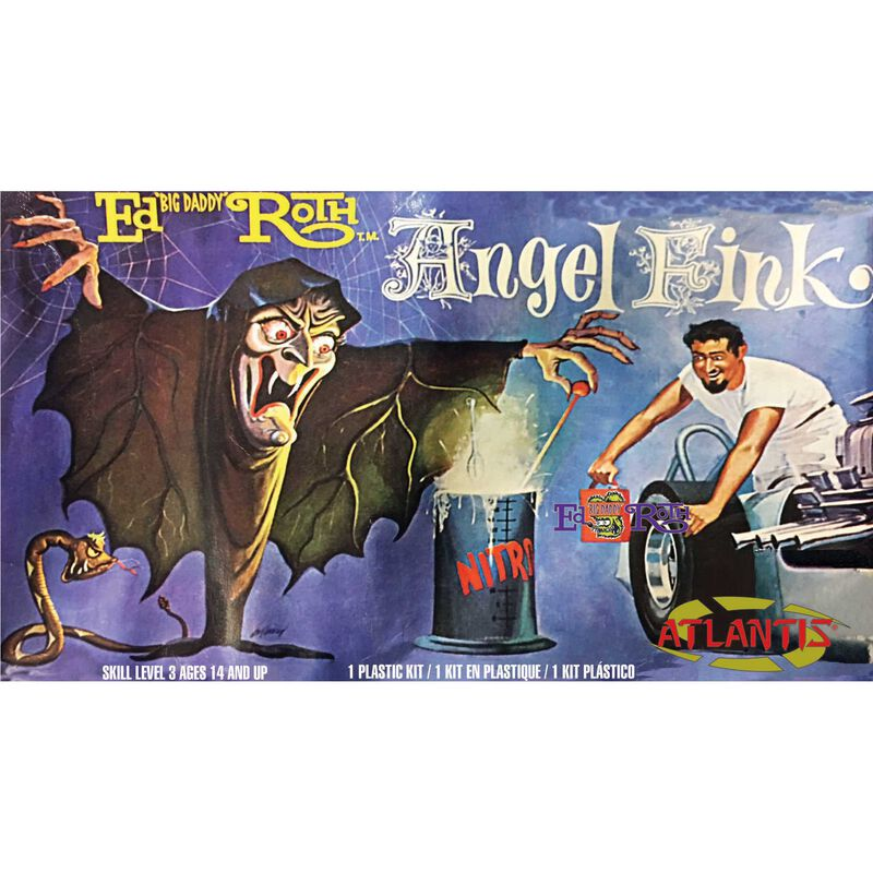 Ed Big Daddy Roth Angel Fink Witch Plastic Model
