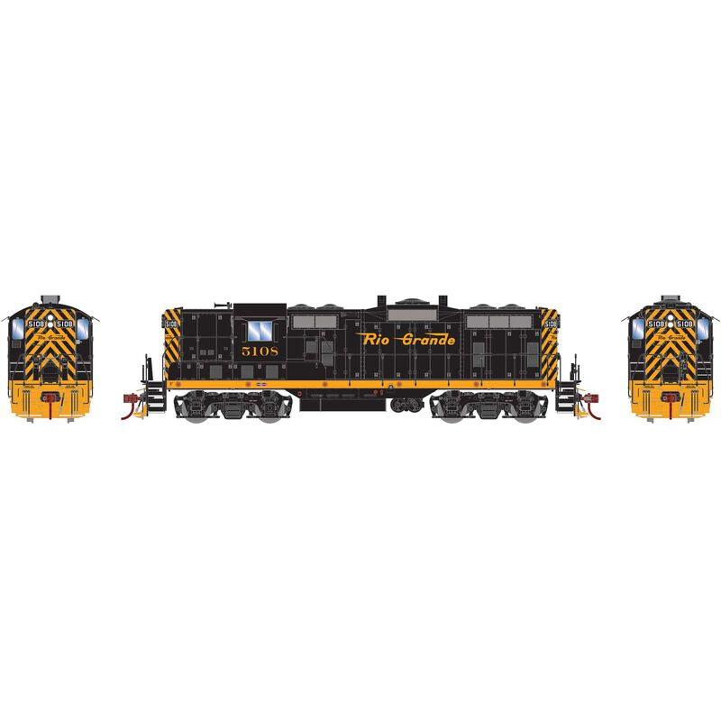 HO GP7 with DCC & Sound D&RGW  #5108