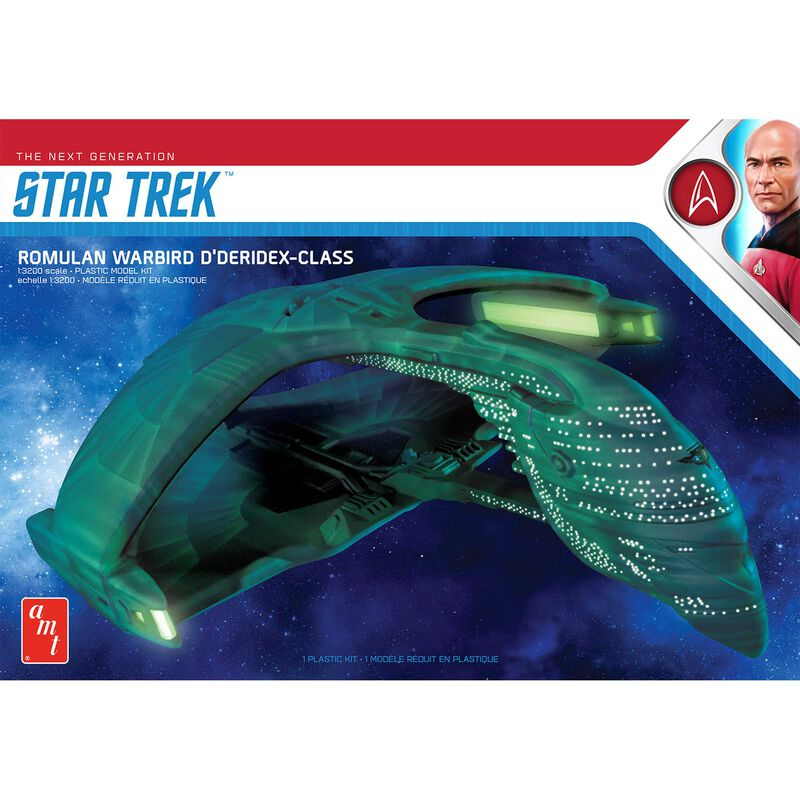 1/3200 Star Trek Romulan War Bird 2T