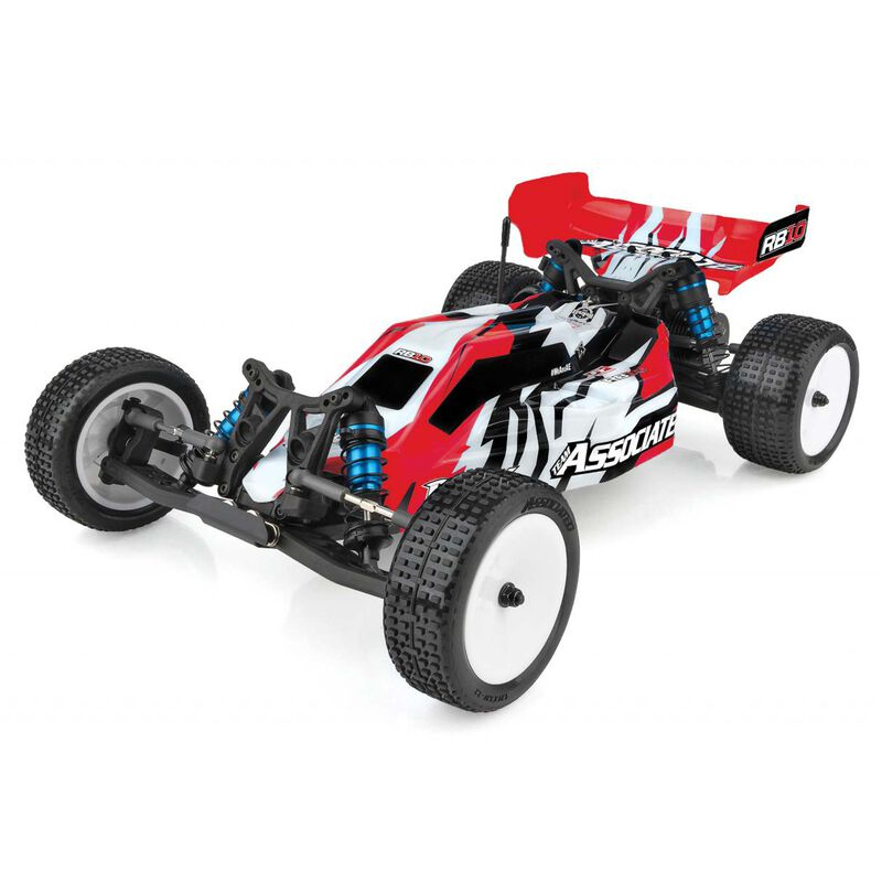 1/10 RB10 RTR LiPo Combo, Red