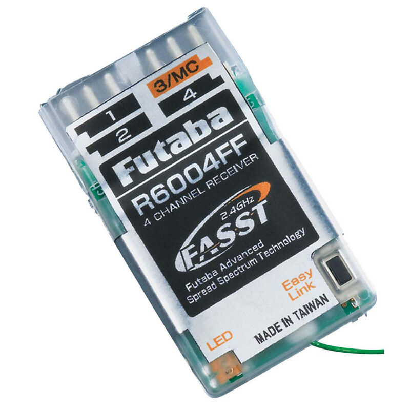R6004FF 4-Channel Indoor FASST Micro Receiver