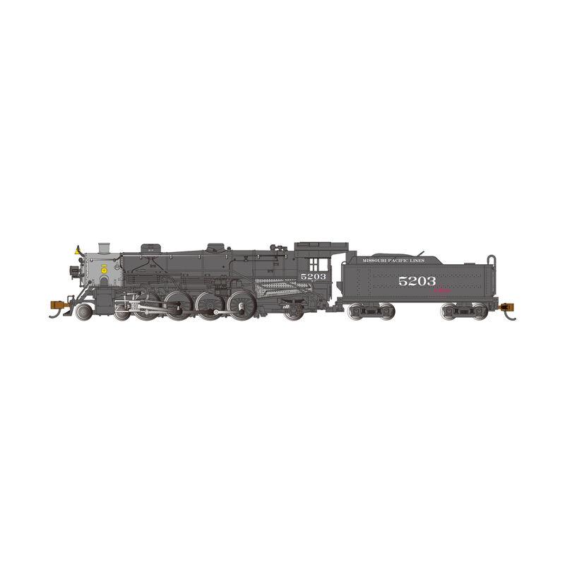 N Light 4-8-2 w Econami DCC Sound Value MP #5203