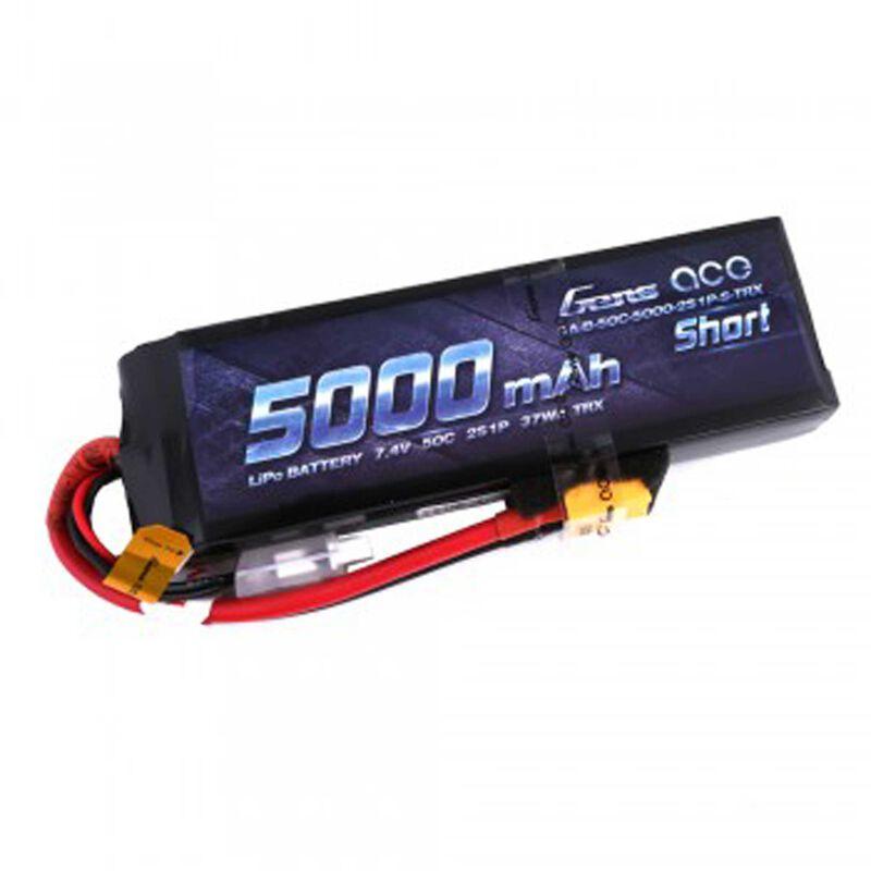 7.4V 5000 Capacity 2S Voltage 50C Rate XT60