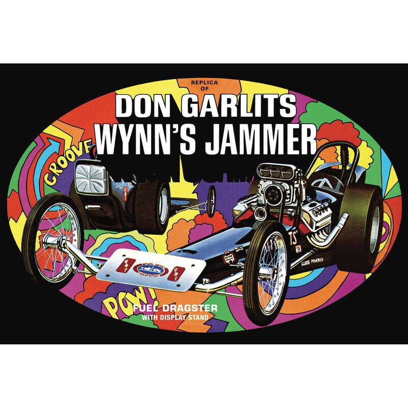 1/25 Don Garlits Wynns Jammer Dragster