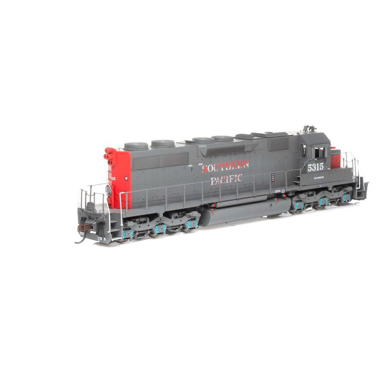 HO RTR SD39 with DCC & Sound SP Worn Lettering #5315
