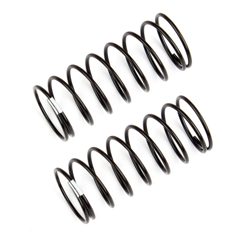 Front Shock Springs, White, 3.40 lb/in, L44mm