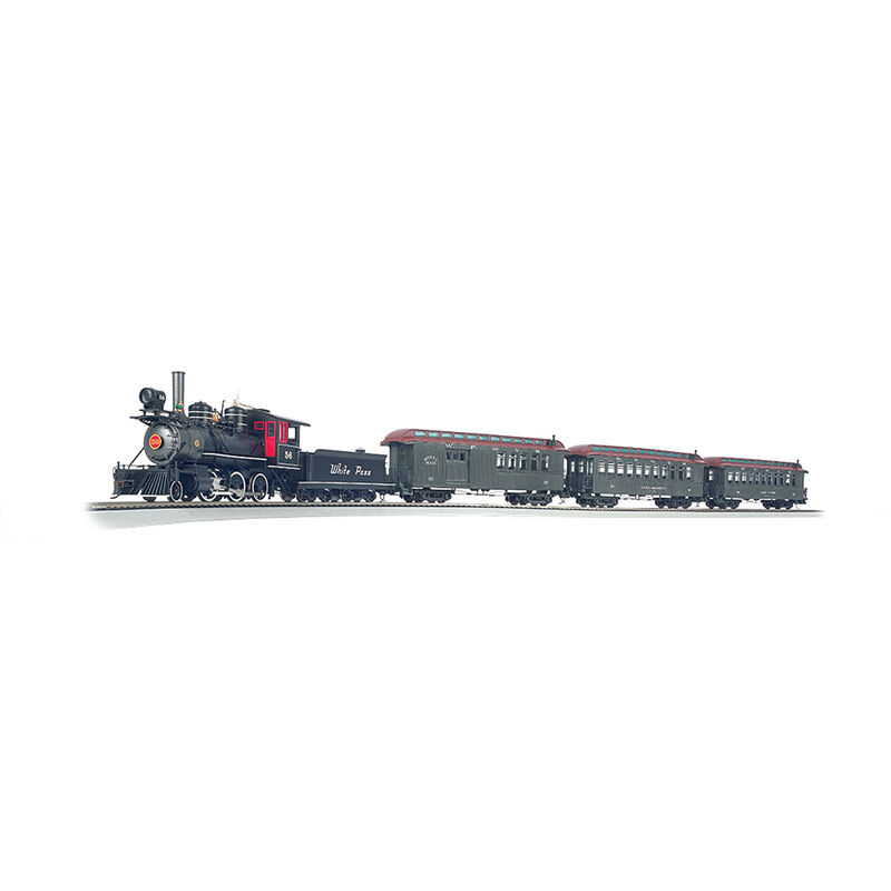 On30 White Pass & Yukon Passenger Train Set