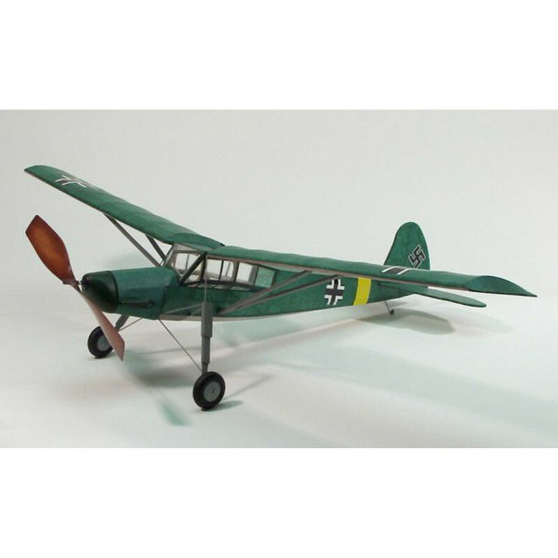 Fieseler 156 Storch Rubber Powered Kit, 30""