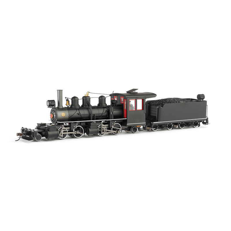 On30 Spectrum 2-4-4-2 Steel Cab&DCC,Undec/Bk/Rd/Wh