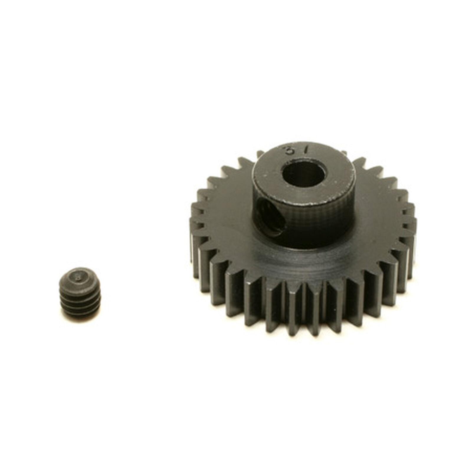 48P Hard Coated Aluminum Pinion Gear, 31T