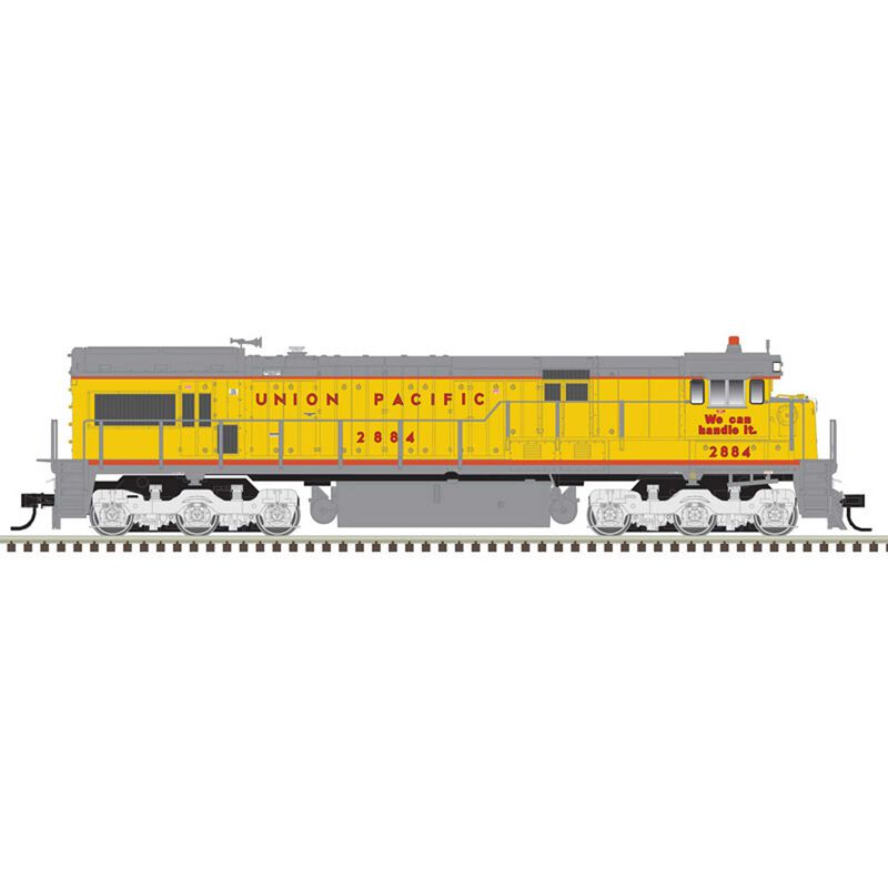 HO U30C Silver Union Pacific (as delivered) 2881