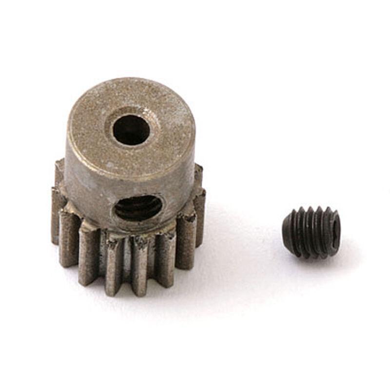15T Pinion Gear: 18-T, 18-MT