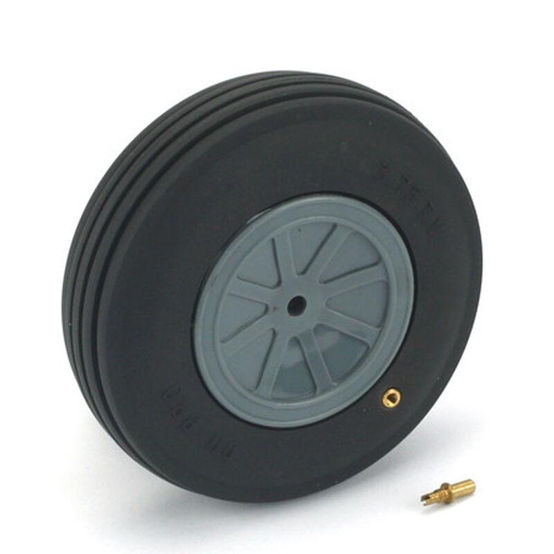"Treaded Wheel, 3-3/4"", Large Scale (1)"