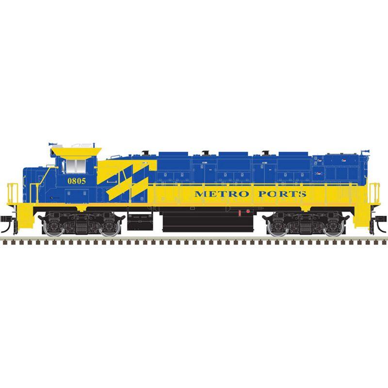 HO Trainman NRE Genset II Metro Ports #805
