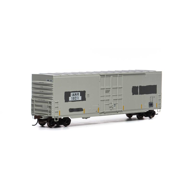 HO 50' Smooth High Cube Plug Door Box, IANR #1021