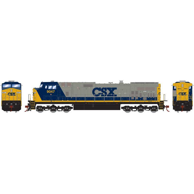 HO Dash 9-44CW CSX YN2 #9047
