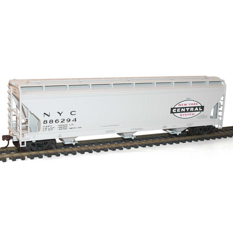 HO KIT ACF 3-Bay Covered Hopper NYC