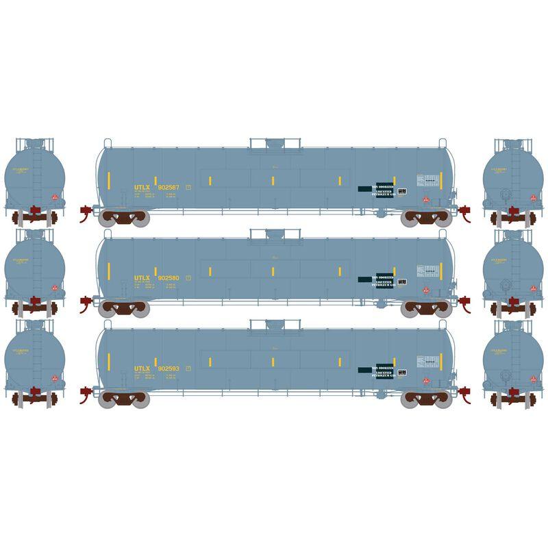 HO 33 900-Gallon LPG Tank Flat UTLX (3)